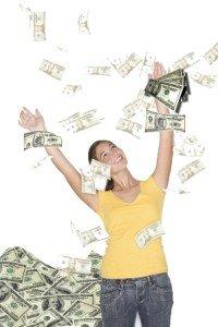 money shower small